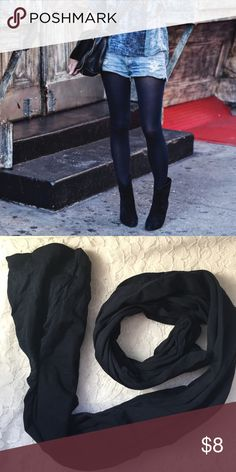 NWOT Navy Tights New without tags navy tights. Good support. Chic and fashionable for the fall and winter months. Accessories Hosiery & Socks