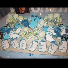 boy baby shower...but most could work.for girl too.. # timelesstreasure.theaspenshops.com