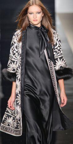 By Indian fashion designer Naeem Khan.