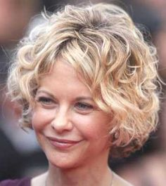 short haircuts for curly hair over 50 - http://www.gohairstyles.net/short-haircuts-for-curly-hair-over-50/