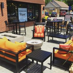 It's beautiful on our patio right now, come in and grab a gelato and relax!