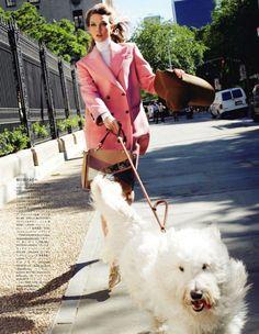 Karlie Kloss by Arthur Elgort for Vogue Japan September 2011