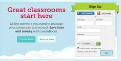 LearnBoost Great classrooms start here: All the software you need to manage your classroom and school. Save time and money with LearnBoost.