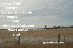 #gonzoturtle #poetry #poem #Kansas #ReadThinkEvolve gonzoturtle.com