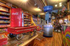 Decorations at the Lollipop Shop in Historic Downtown Jonesborough, TN by Jason Barnette Photography, via Flickr