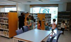 L'últim dia de QUI VOL UN CONTE...DE TOTS COLORS? vam fer un trenet per tota la biblioteca. Maig