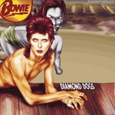 David Bowie, Diamond Dogs | 23 Classic Album Covers That Are Even Better As Animated GIFs