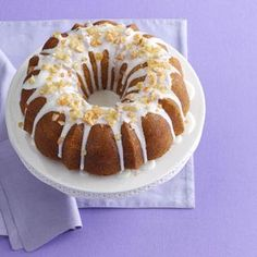 Citrus Pound Cake Recipe from Taste of Home -- shared by Lisa Varner of El Paso, Texas