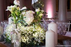 Country House Wedding Venues, London Bride, Banquet, Wedding Table, Cosy, Centre, Wedding Flowers, Deep, Warm