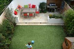 Comment Aménagement Son Jardin Espace Détente Salon De Jardin Table En Bois  Chaise En Bois