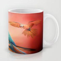 Macaws In Paint Mug