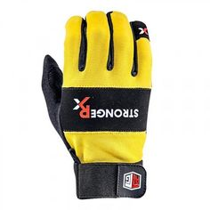 CrossFit Gloves: StrongerRX.com - Color: Yellow, Price: $38.97 #crossfit #crossfitgloves #gloves #yellow #sports #fitness