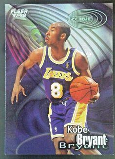 1997-98 FLEER ZONE  2 KOBE BRYANT  LosAngelesLakers 638752ae1