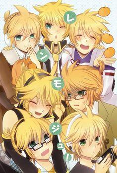 moudules of Len! Hatsune Miku Vocaloid, Vocaloid Funny, Kaito Shion, Miku Chan, Len Y Rin, Kagamine Rin And Len, Vocaloid Characters, Cute Characters, Mikuo