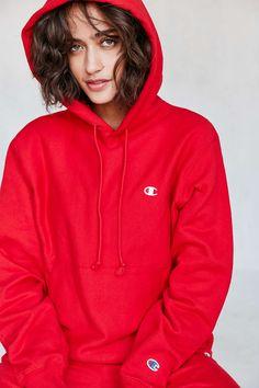 Champion + UO Reverse Weave Hoodie Sweatshirt