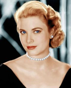 Grace Kelly- she had a very different makeup style to a lot of the icons. No bold liner, just blended browns and coraly red lips.
