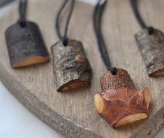 S a l e wooden pendant linden or/ pine or/ birch or/ oak or/ cherry wood necklace wood pendant wooden necklace Driftwood Jewelry, Wooden Jewelry, Jewelry Rack, Linden Wood, Wooden Tree, Wooden Necklace, Wooden Crafts, Jewelry Crafts, Jewelery