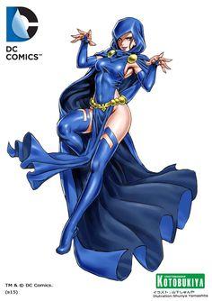 raven-bishoujo-statue-illustration-dc-comics-kotobukiya-Shunya-Yamashita