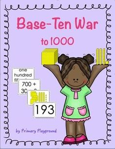 A place value game for 1st, 2nd and 3rd graders; students practice place value using base-ten block and expanded form to 1000