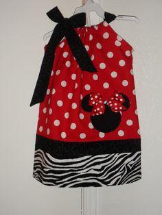 Minnie Mouse Pillowcase Dress by Just4Princess on Etsy $27.00 & Minnie Mouse Pillowcase Dress 6 12m 2t 3t 4t by MaddyRoseCottage ... pillowsntoast.com