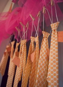 Ties and TuTus - Super cute for a tea party