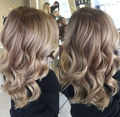 The warm to cool blonde hair color hacks every colorist should know 18 Cool Blonde Hair Colour, Blonde Hair With Highlights, Balayage Hair Blonde, Brown Blonde Hair, Light Brown Hair, Brown Hair Colors, Ombre Hair, Ombre Balayage, Auburn Balayage