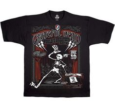 a276a1789dea (eBay link) Grateful Dead Show Time Officially Licensed Cotton T Shirt  X-Large