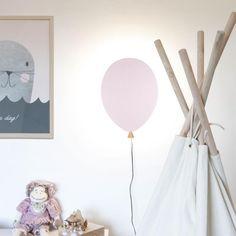 Seinävalaisin Balloon 109,95 #seinävalaisin #lastenhuone #hemtex
