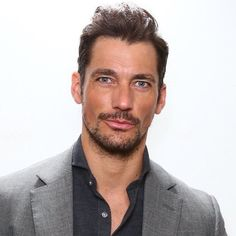 David Gandy at the Glamour Beauty Festival on March 13, 2016 in London.