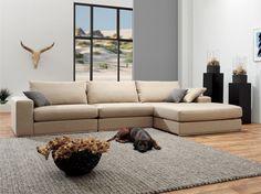 Complete zithoeken : Leefhoek River Lounge XL (303 cm) - Meubilex