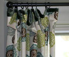 gorgeous drapes .. .love the slim edge banding too!
