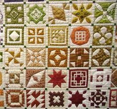 Closeup, Dear Jane by Sonia, posted by Karen Styles at Somerset Quilting (Australia)