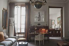 Mlinaric, Henry & Zervudachi ~ Tino Zervudachi's Paris apartment