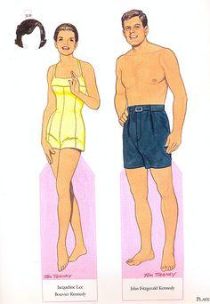 paper doll - john & jacqueline | by sonobugiardo