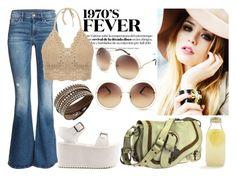 Seventees Fever by vanda-varelas on Polyvore featuring H&M, Y.R.U., Christian Dior, Swarovski, Chloé, Bormioli Rocco, women's clothing, women's fashion, women and female