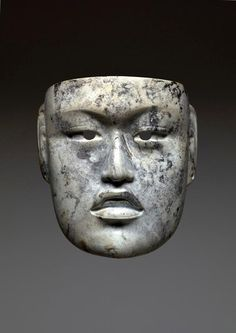 Mask.  Date: c. 900-500 B.C. North America, Mexico. Gulf Coast Olmec culture