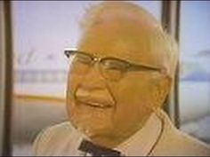 """Kentucky Fried Chicken - """"The Colonel In Chicago"""" (Commercial, 1977) Here's a commercial for Kentucky Fried Chicken (no, not KFC) featuring the man himself - Colonel Sanders. And in Chicago to boot!  This aired on local Chicago TV on Friday, March 4th 1977."""