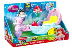 Amazon: Fisher-Price Little People Ariel's Coach Toy – Only $10