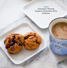 Cinnamon-Graham Pumpkin Cookies or Crackers.