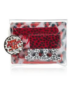Loving this NPW Red Leopard Pedicure Kit on #zulily! #zulilyfinds