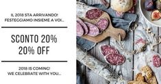 Festeggiamo l'arrivo del 2018 con un SUPER sconto del 20% su tutti i nostri prodotti. Hai tempo fino a capodanno . . .  We celebrate the arrival of 2018 with a super discount of 20% on all our products. Take advantage of it by New Year's Eve . . . #emiliafoodlove #emiliafoodlover #foodblogger #italianfood #foodporn #food #foodie #foodlover #foodblog #foodstagram #yummy #gnam #italianfood #bestoftheday #foodpassion #lovefood #goodfood #foodpics #emiliaromagna #shop #foodphoto #instafood…