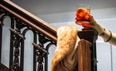 Boulevardier cocktail recipe: One part Negroni, one part Manhattan.   Photo: Daniel Krieger