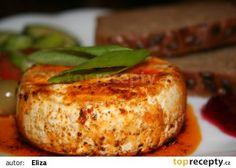 Grilovaný Hermelín recept - TopRecepty.cz Baked Potato, Barbecue, Grilling, Food And Drink, Turkey, Yummy Food, Treats, Baking, Breakfast
