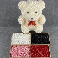 TB2reDta4TI8KJjSspiXXbM4FXa_!!2971856010 Creative Birthday Gifts, Schaum, Kit, Ball Ornaments, Different Colors, Teddy Bear, Pearls, Toys, Animals