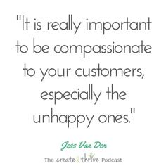It can feel like the worst thing in the world to have an unhappy customer. And I get it, I've been there – it's almost impossible to not take it personally, especially the first t…