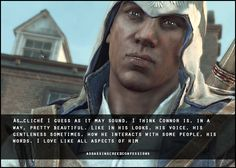 Assassin's Creed Confessions <<< This is a highly accurate statement.