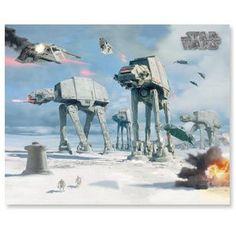 Star Wars Hoth Battle Lenticular 8X10 Poster