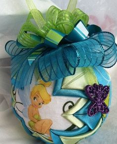 Disney's Tinkerbell Quilted Christmas Ornament by ncgalcreations, $15.00