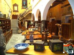 In the Puebla's Centre you'll find various places with antiques from the XVIII or XIX