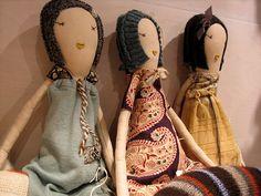 jess brown hand made dolls - stunning!